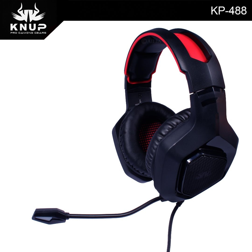 Headset Gamer Kp-488 Knup 7.1 Pc Ps4 Xbox