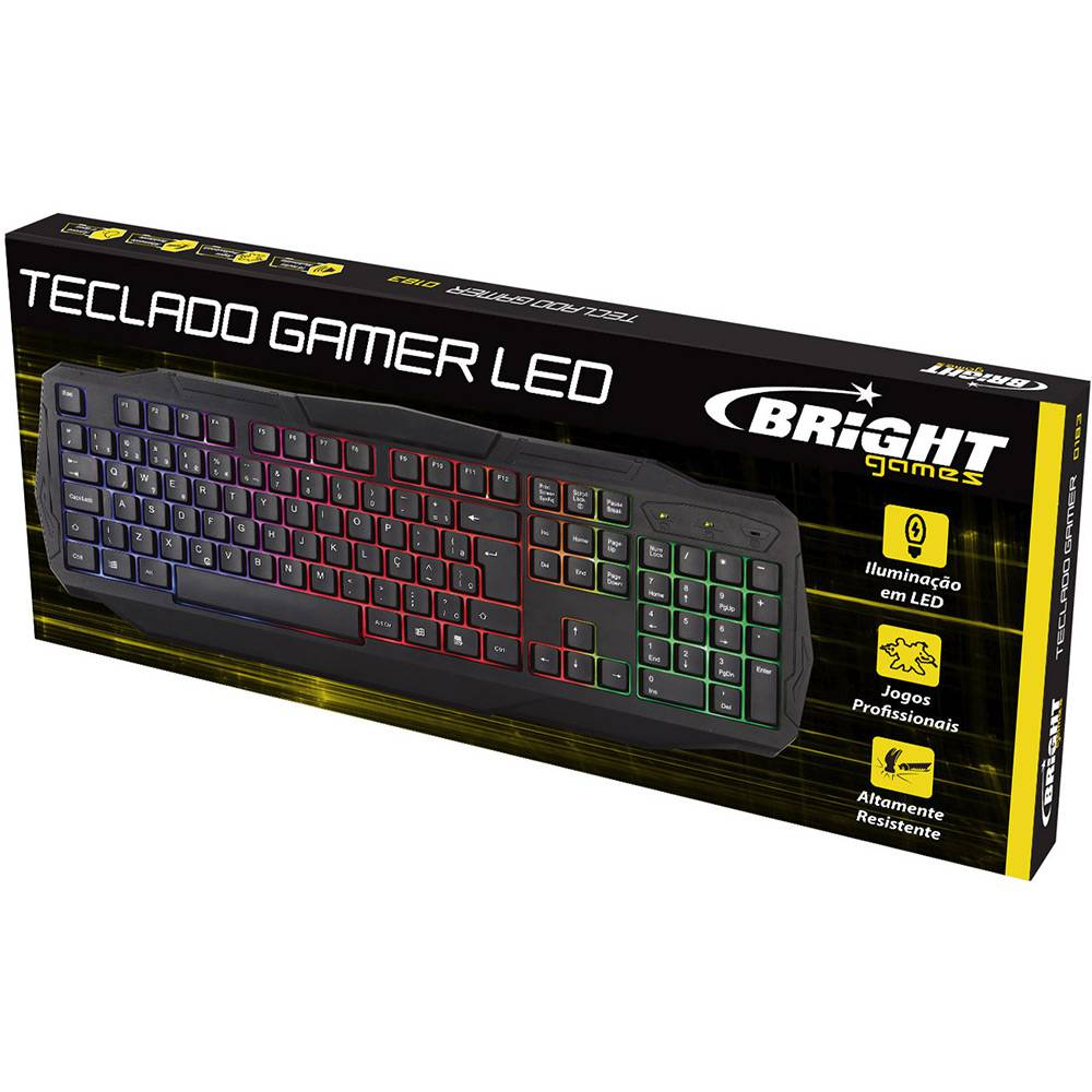 Teclado Gamer Luminoso 0464 Bright