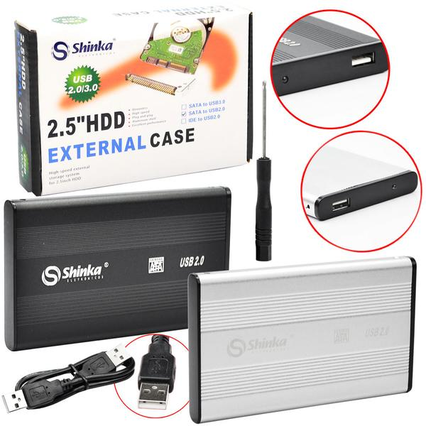 Case Sata Hd 2.5 Usb 2.0
