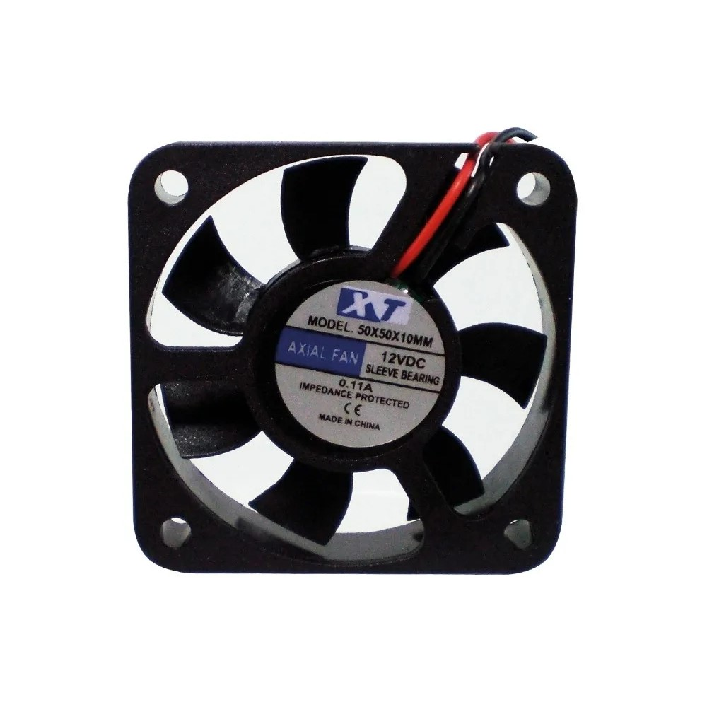 Cooler Fan 50x50x25 12v Mm Preto Global 075-5050 5+