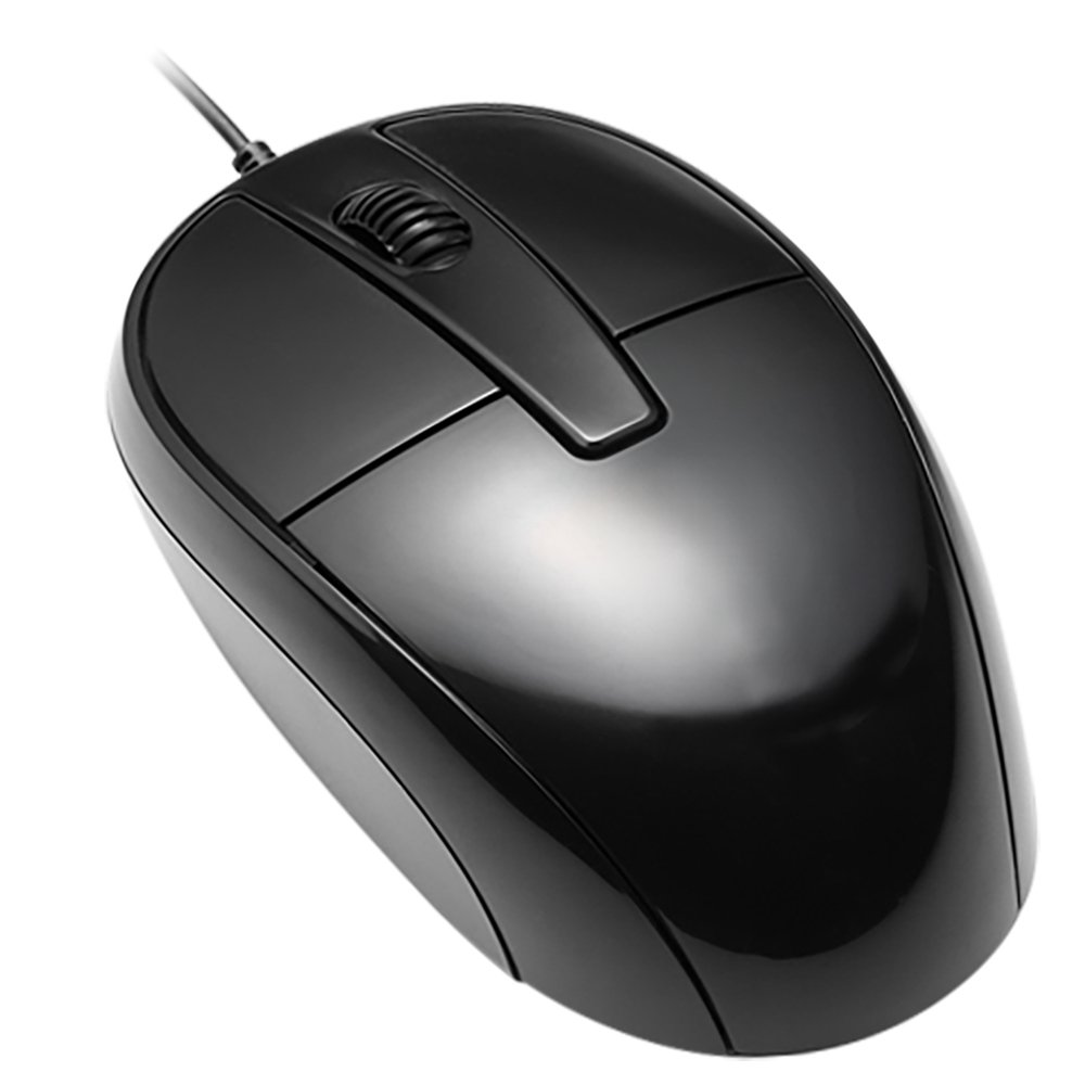 MOUSE PC BRAZIL BPC M129 OPTICO USB 1000DPI PRETO