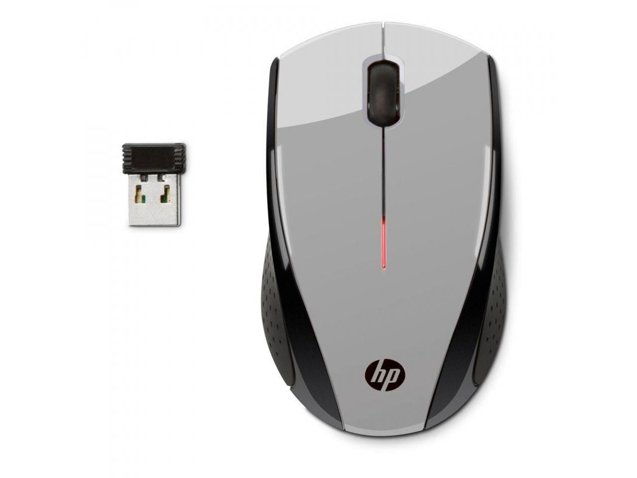 Mouse Wireless 1200dpi Cinza X3000 Hp