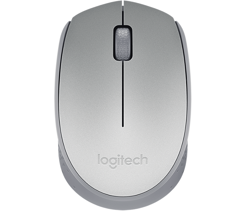 Mouse Wireless Prata M170 Logitech