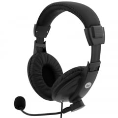 Headset Com Microfone Office Preto 0507 Bright