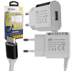 Carregador Para Celular V8  Ft-Usb-Cb-2 Shinka