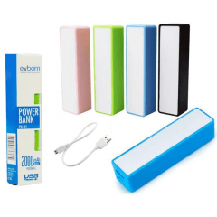 Carregador portatil power bank 2000mah pb-m1 exbom