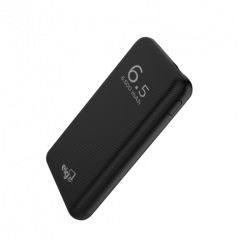 Carregador PortÁTil Power Bank 6500mah Pb65 Elg