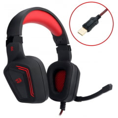 HEADSET GAMER REDRAGON H310 MUSES 7.1 SURROUND USB