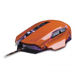 Mouse Gamer Warrior 3200dpi Usb Laranja Mo263 Multilaser