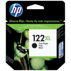 Cartucho 122xl Alto Volume Preto Ch563hb Hp