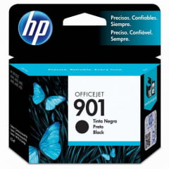 Cartucho Preto Officejet 901 Cc653ab Hp