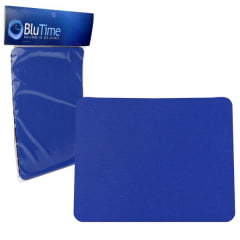 Mouse Pad Simples Azul Generico