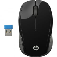 Mouse Sem Fio Wireless Preto X200 Oman Hp