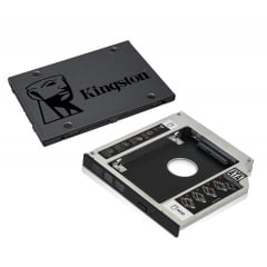 Ssd 240 Gb Kingston + Case 9.5 Para Notebook