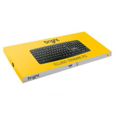 Teclado Basic Preto Ps2 Bright