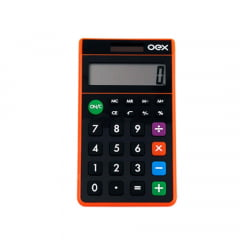 Calculadora Oex Cl100 Pocket 8 Digitos Energia Solar